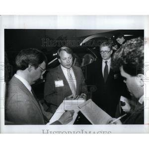 1989 Press Photo Edsel Ford II - RRX56407