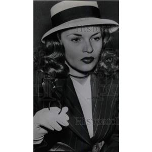 1946 Press Photo Peggy Knudsen American Actress Divorce - RRW79371