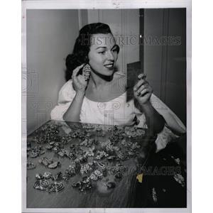 1954 Press Photo Bess Myerson Actress - RRW81849