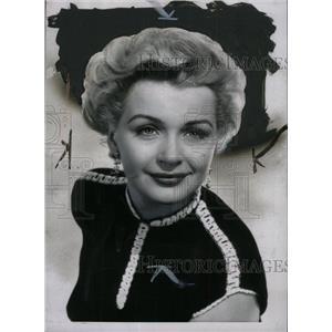 1954 Press Photo Actress Dolores Dorn Portrait - RRW71407
