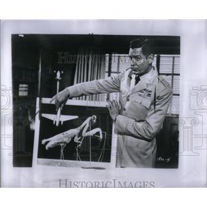 1957 Press Photo Craig Stevens motion picture artist US - RRX51287