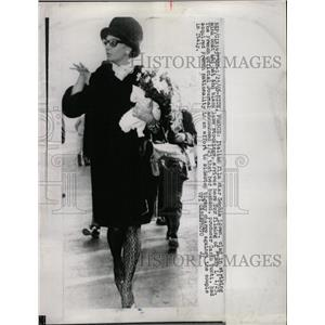1965 Press Photo Italian film star Sophia Loren Lady - RRW81647