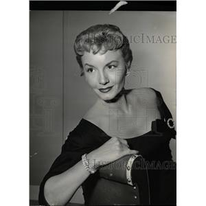 1958 Press Photo Janet Blair (Actress) - RRW20945