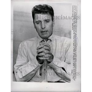 1962 Press Photo Actor Burt Lancaster - RRX64479