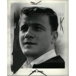 1966 Press Photo Bob Laure Actor - RRX37125
