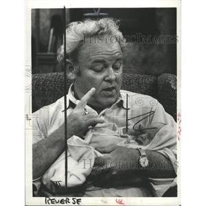 1978 Press Photo Carroll O'Connor, American Actor. - RRW36691