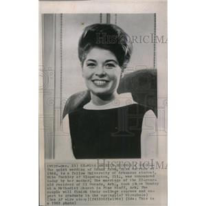 1964 Press Photo Donna Axum Miss America Actress - RRW80161