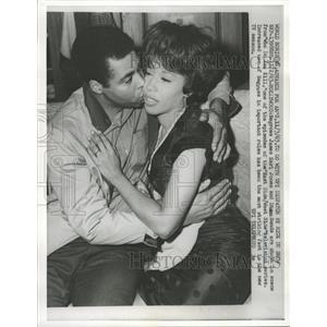 1963 Press Photo Earl Jones & Diana Sands in TV Series. - RRW41817