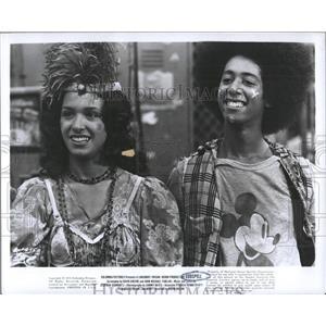 1975 Press Photo two members cast Godspell - RRX99667