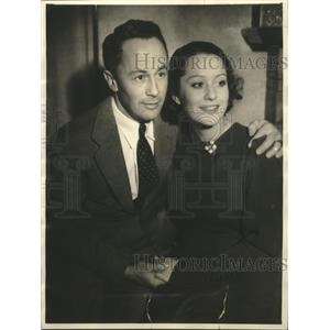 1934 Press Photo Hollywood CA John Peverell Marley to wed actress Ruth McAdoo