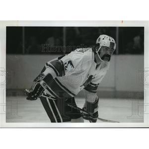 1971 Press Photo Alabama-Birmingham Bulls Hockey Player, Serge Beaudoin