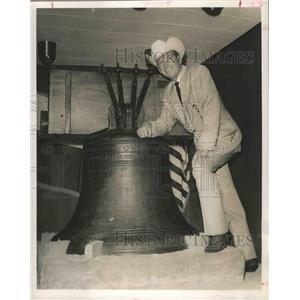 1962 Press Photo Rex Allen, Houston Livestock Show and Rodeo - hca00324