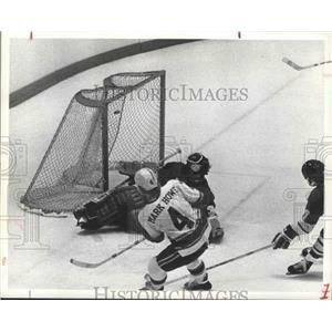 1974 Press Photo Hockey's Houston Areros' rookie - hca01026