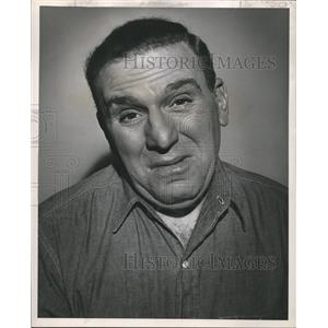 1955 Press Photo William Bendix Stars in The Life of Riley - nox06387
