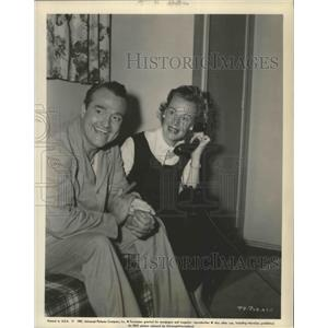1957 Press Photo Red Skelton a man of many paradoxes and his wife, Georgia