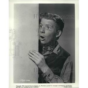 1955 Press Photo Actor Jimmy Boy Stars in The Second Greatest Sex - nox10276