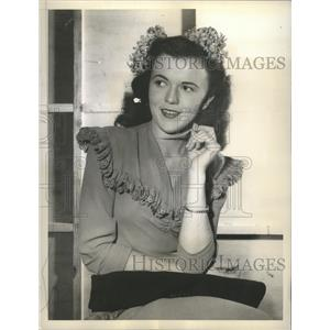 1940 Press Photo Ruth Brennan daughter of Hollywood Actor Walter Brennan