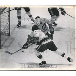 1974 Press Photo Houston Aeros, Hockey Team - hca04268
