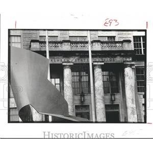 1986 Press Photo Capital Lines, State Capital Alaska  - hca04465