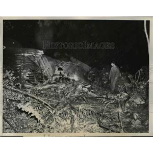 1943 Press Photo Nine Airmen Headed Home for Holidays Died in Crash San Francisc