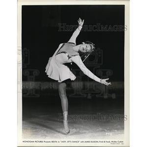 1944 Press Photo Belita in Lady Let's Dance - cvp78976