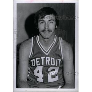 1972 Press Photo Detroit Pistons Chris Ford - RRX38685