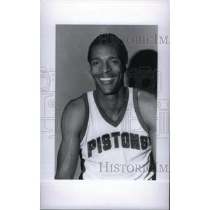 1977 Press Photo Detroit Pistons player - RRX40039