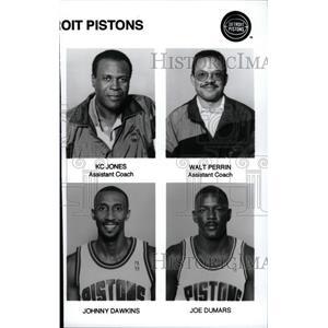 Detroit Pistons Basketball Team Members - RRW73951