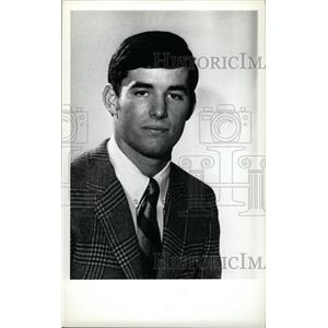1973 Press Photo Mike Christie Denver University ice ho - RRW73849