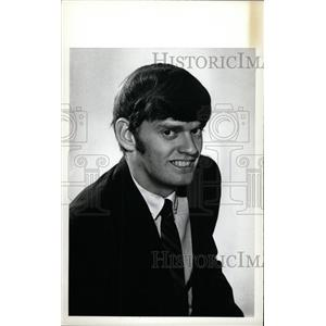 1973 Press Photo Ed Hays Denver University Hockey - RRW73877