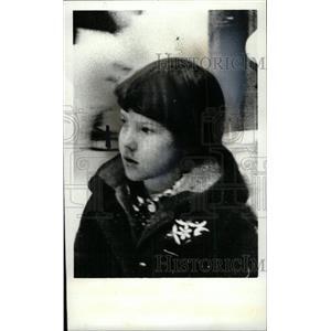 1980 Press Photo Gillian Comley Rick Daughter Hockey - RRW76621