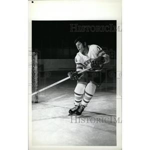 1973 Press Photo Jim Peluso Denver University Hockey - RRW73855