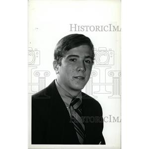 1973 Press Photo Rob Palmer Denver University Hockey - RRW73891