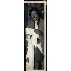 1974 Press Photo Detroit Reds Wings Mickey Redman - RRX39413