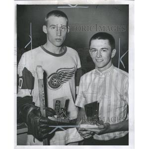 1962 Press Photo Olympia Youngsters Hockey School - RRW36049