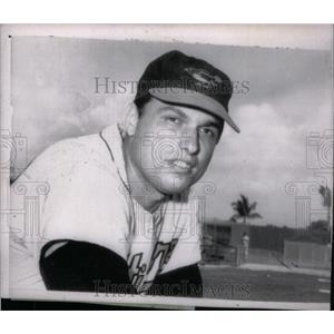 1965 Press Photo Milt Pappas Chicago Cubs Pitcher - RRX43169
