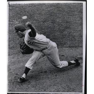 1964 Press Photo Fredie Hubert Norman baseball player - RRW80527