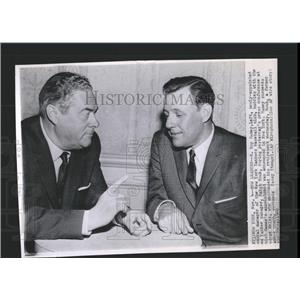 1960 Press Photo H. Roy Hamey & Ralph Houk Yankees - RRX84583