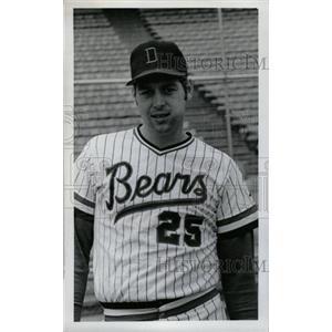 1974 Press Photo Jim Crawford Denver Bears - RRW73977