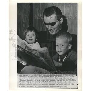 1965 Press Photo Fred Arbanas Kansas City Chiefs Player - RRW39353