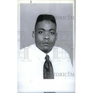 1991 Press Photo Central High William Riggine - RRX39529