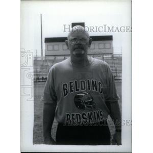 Press Photo Irv Sigluer football coach Belding Redskins - RRX39671