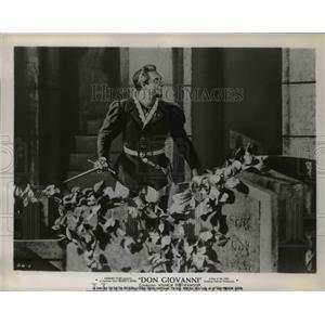 1958 Press Photo Cesare Siepe in Don Giovanni - orp26007