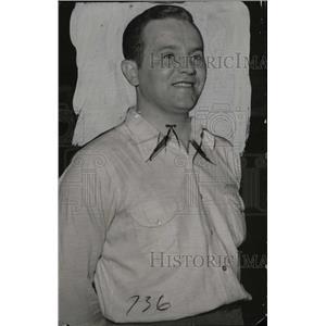1941 Press Photo Professional Bowler James E. McMahon - RRW75733