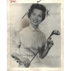1963 Press Photo Marlene Bauer Hagge golfer LPGA tour - RRW42427