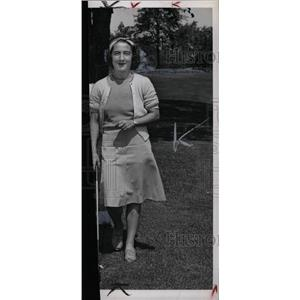 1945 Press Photo Mrs Donald Watkins Virginia Paddock - RRW75437