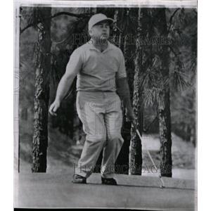 1963 Press Photo Golfer Kuntz Reacting To Missed Putt - RRW99341