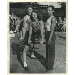 1941 Press Photo Gymnastics - RRW34511