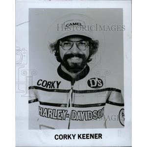 1978 Press Photo Racer Coky Keener entered National lev - RRW80985