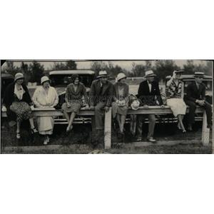 1931 Press Photo Denver Polo Club Members - RRX43185